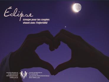 Le groupe Éclipse offre un espace d'échange pour les couples en processus de fertilité afin de les outiller pour composer avec les différnts défis liés aux traitements de fertilité.